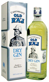Cadenhead's Gin Dry Old Raj 110@ 750ml
